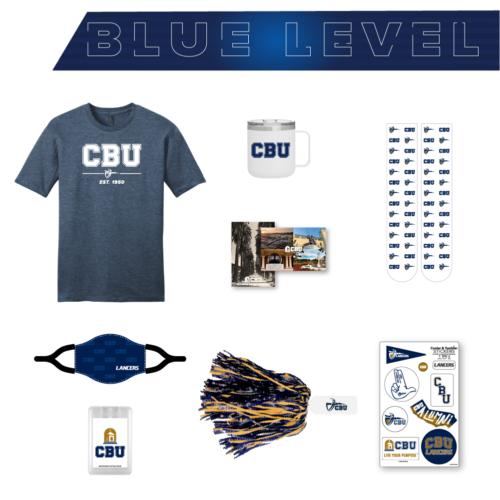 Blue Level Spirit Pack Items