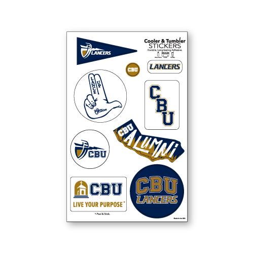 CBU Spirit Stickers